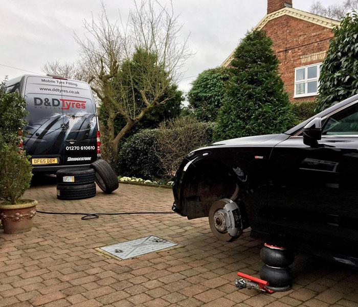 Mobile Tyre Fitting Nantwich