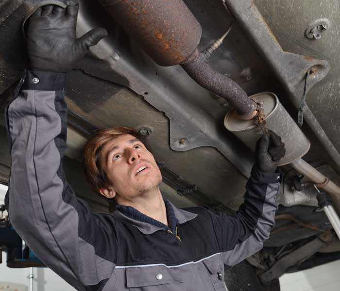 exhaust inspection